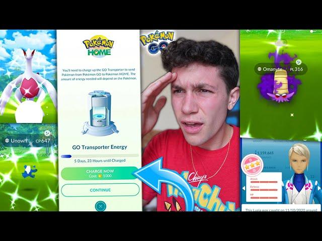 IS SENDING POKÉMON FROM GO TO HOME EVEN WORTH IT? + EXCLUSIVE POKÉMON RETURNS! (Pokémon GO)