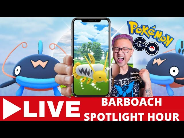 BARBAOCH SPOTLIGHT HOUR pokemon go 2020