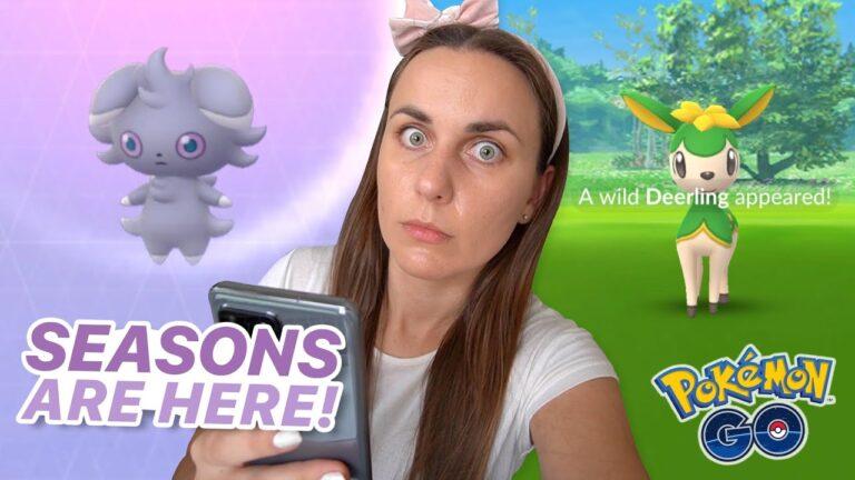 NEW SEASONS SPAWNS ARE CRAZY GOOD! Pokémon GO