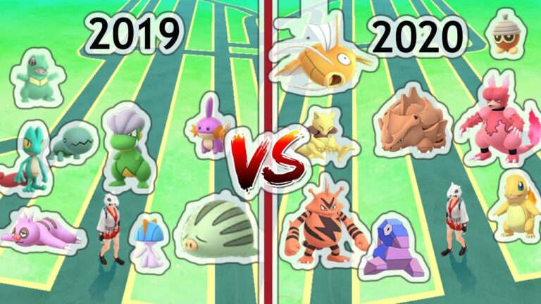 Super Community Day 2019 VS 2020 in Pokemon Go