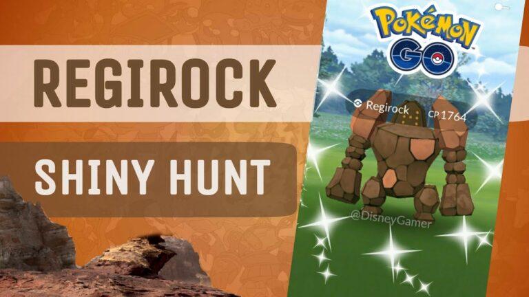 Catching Shiny Regirock Pokemon Go, Regirock Shiny Hunt, Regi-Brothers Return Pokemon Go 2020