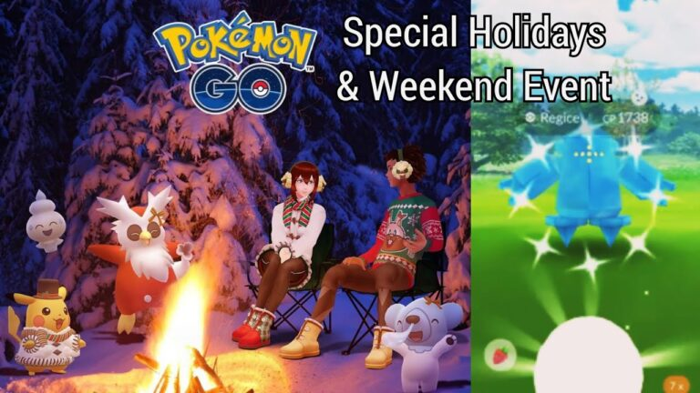 New Pokemon Go Holidays 2020 Event | New Pokemons & Legendary | Pokemon Go Weekend Event 2020