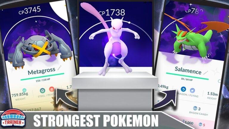 TOP 10 *STRONGEST POKÉMON* in POKÉMON GO – SHADOW & NORMAL | Pokémon GO
