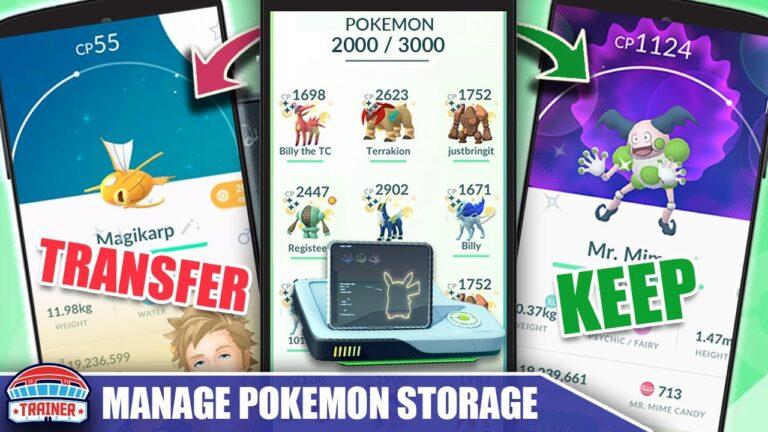 KEEP or TRANSFER? HOW TO MANAGE YOUR *POKÉMON STORAGE* in 2020! Pokémon GO