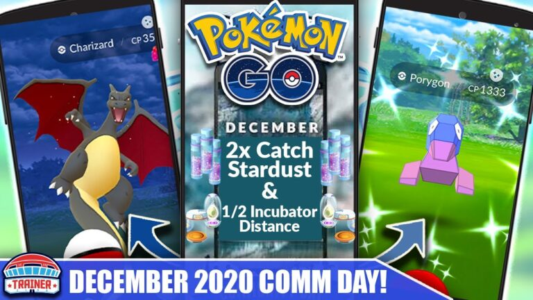 FULL DETAILS! *DECEMBER COMMUNITY DAY* IS A MUST! BONUSES, SPAWNS, TIMES & DETAILS!   Pokémon GO