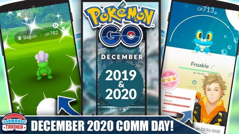 NEWS! *DECEMBER 2020 COMMUNITY DAY* DETAILS, GENERATION 6 EVENT, SEASONS & GBL SEASON 6   Pokémon GO