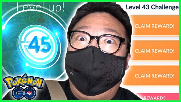 I HIT LEVEL 45 AND GOT SOME SPECIAL CHALLENGES IN POKEMON GO