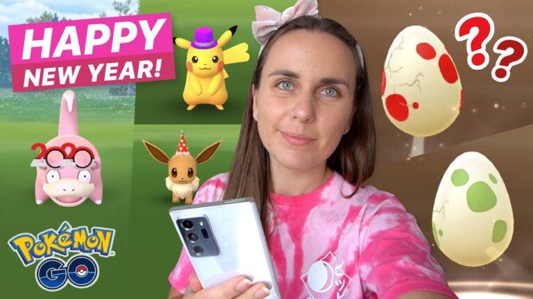 NEW YEARS SHINIES & EGGS! Pokémon GO