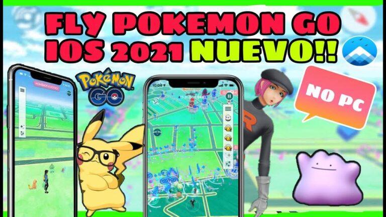 COMO SER FLY EN POKEMON GO IOS 2021 | NUEVO MÉTODO #ipogo #pokemongo #communityday #appvalley #ios
