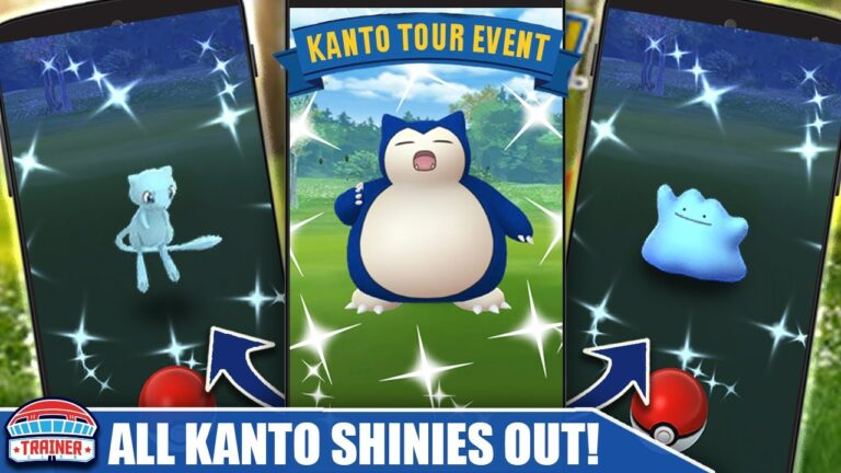 WOW! *GUARANTEED SHINY MEW* – RELEASING ALL SHINY KANTO POKÉMON – KANTO TOUR EVENT | Pokémon GO 2021