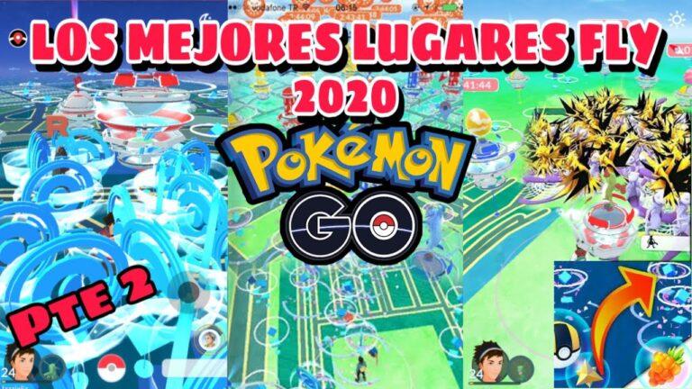 LAS MEJORES UBICACIONES FLY POKEMON GO 2020 #pokemongo #communityday