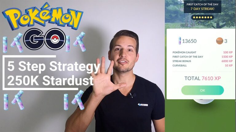 Easy Way to Get 250K Stardust in Pokemon GO Every Month