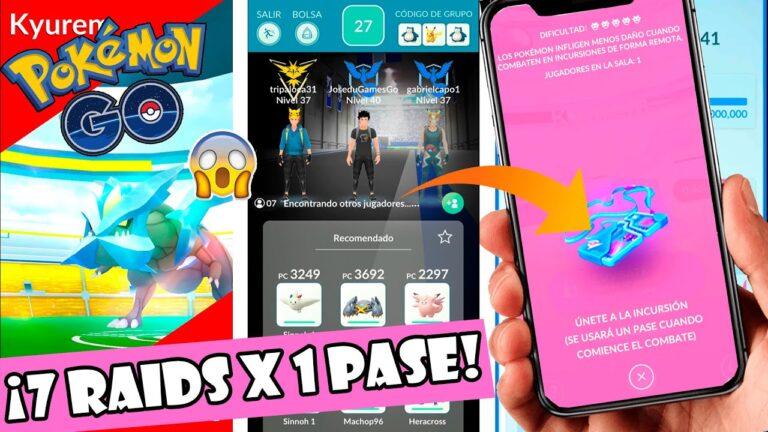 ¡NUEVO TRUCO EN POKÉMON GO! MÁS DE 7 RAIDS CON 1 SOLO PASE DE INCURSION en Pokémon GO | Pokémon GO