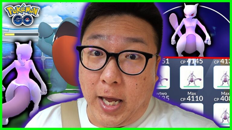 THE STRONGEST MEWTWO AGAINST ALL RAID BOSSES TIER 1-3 IN POKEMON GO
