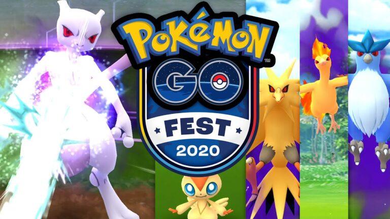 Pokémon GO Fest 2020! Ich fange mein Mewtu   Pokémon GO Deutsch #1462