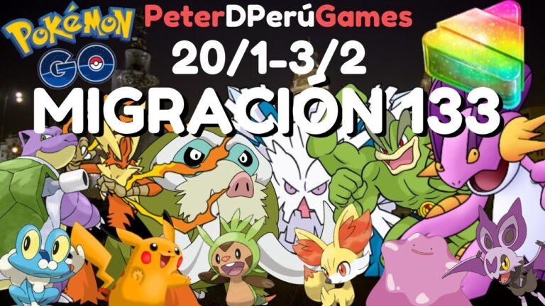 """Migración 133 """"KALOS"""" LOS MEJORES Nidos Lima Perú, Pokémon para el PVP PokemonGo [PeterD'Perú]"""