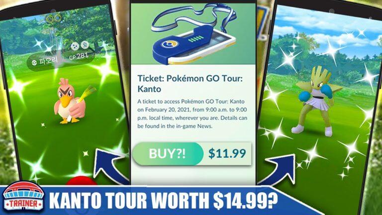 KANTO TOUR! *IS IT WORTH $11.99?!* COMPLETE EVENT BREAKDOWN & PAST EVENT COMPARISONS   Pokémon GO