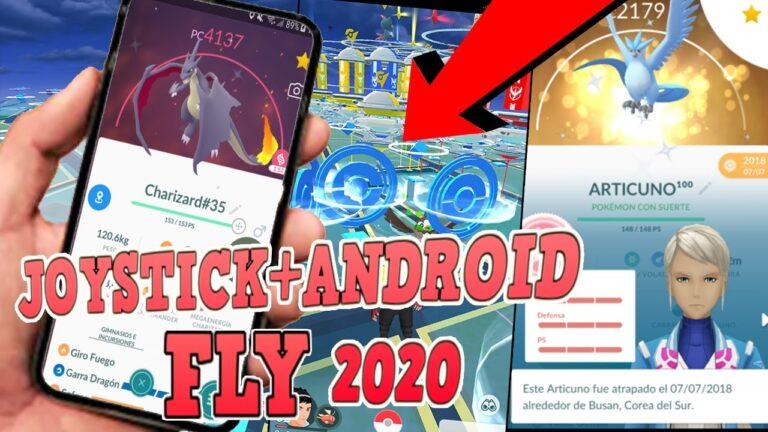 ⏰INSTALAR  POKEMON GO  android JOYSTICK 2020🔭Como ser fly en pokemon go 2020 android 10,9,8,7,6