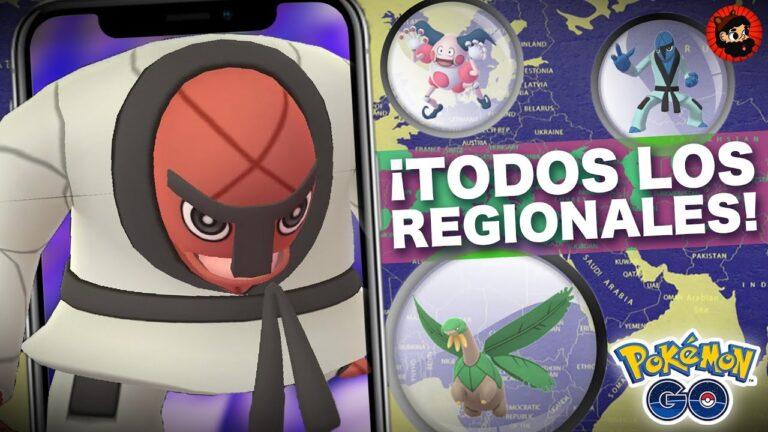 TODOS LOS REGIONALES ACTUALES Y DONDE ENCONTRARLOS!! ENERO 2020 | 1709 | POKEMON GO