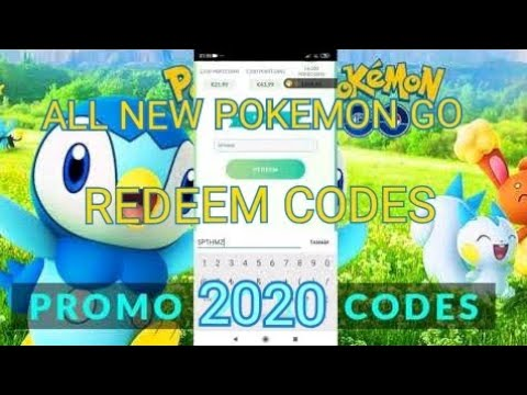 ALL POKEMON GO PROMO CODES 2020
