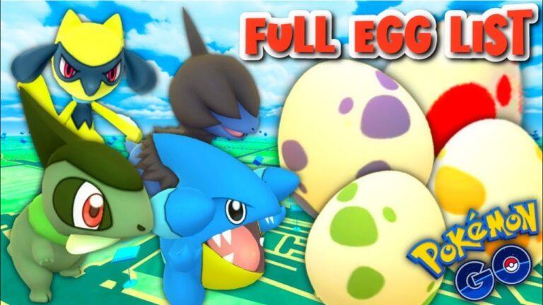 Niantic Reveals what are in Eggs for Pokemon GO    12km, 10km, 5km & 2km Eggs