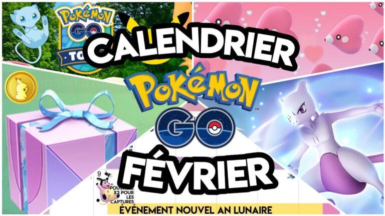 Calendrier Pokémon Go Février – Événements Team Go Rocket / Nouvel an Lunaire / St-Valentin
