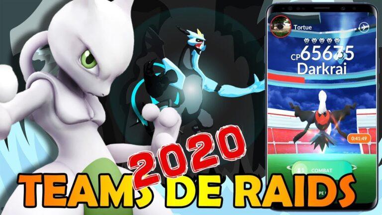 LES MEILLEURS OFFENSIFS 2020 !! VOS TEAMS DE RAIDS DANS POKEMON GO