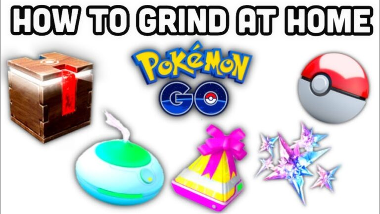 How to Grind at Home in Pokemon GO   FREE pokécoins   1 hour Meltan box & incense