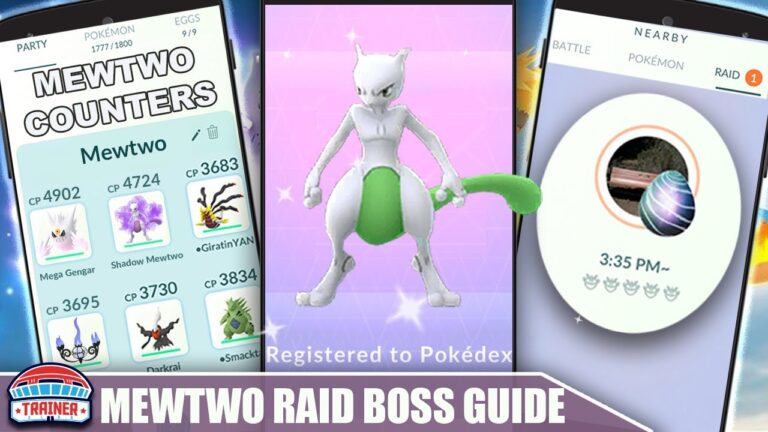 THE SHINY *MEWTWO* COUNTER GUIDE! 100 IVs, MOVESET & WEAKNESS – PSYCHIC RAID BOSS   Pokémon Go