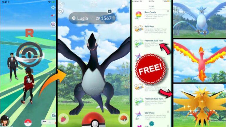 how to get shadow lugia in pokemon go | free raid pass pokemon go | new event in pokemon go.