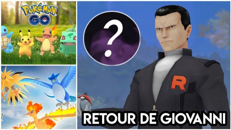 Événement Célébration de Kanto – Giovanni & Team Go Rocket – Journée de Raids