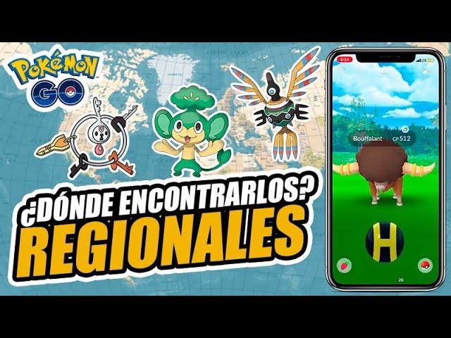 ¡TODOS los REGIONALES de Pokémon GO! ¡Dónde y cómo capturarlos! [Keibron]