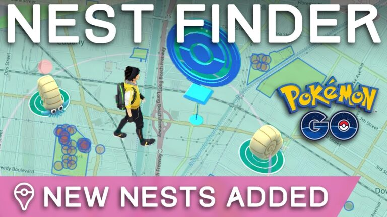 *NEW NESTS* IN POKÉMON GO – HOW TO FIND NEW NESTS NEAR YOU
