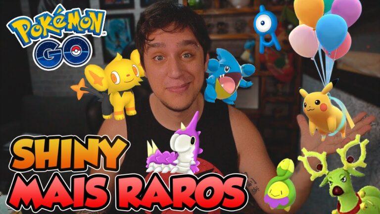 LISTA DOS SHINY MAIS RAROS DO TIGER DEZ/20 –  Pokémon Go