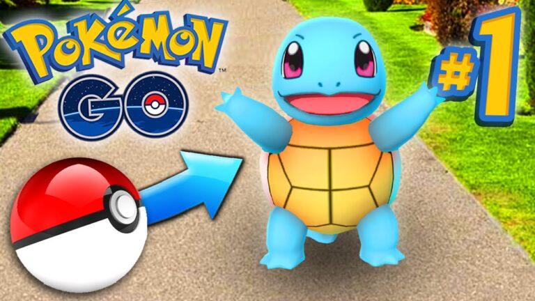 Pokemon GO Episode #1 – CATCHING POKEMON!