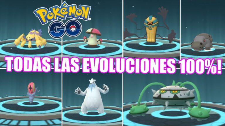 LAS MEJORES EVOLUCIONES 100% Y REGISTROS DE 5 GENERACIÓN! [Pokémon GO-davidpetit]