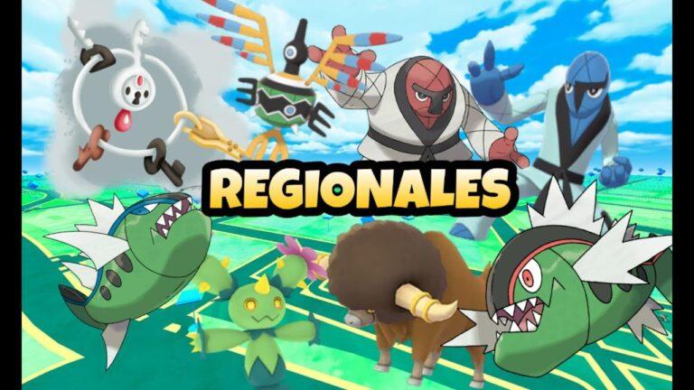 ¡TODOS LOS POKEMON REGIONALES Y COMO CONSEGUIRLOS❓❓❓ POKEMON GO!