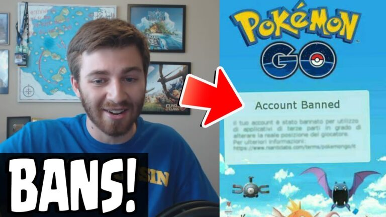 Pokemon GO NEWS! TRAINERS THAT CHEAT & HACK GETTING PERMANENT BANNED!
