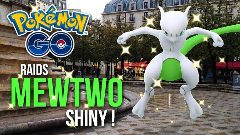 RAIDS MEWTWO SHINY✨ Le Shiny tombe, la pluie s'arrête ! ~ Pokémon GO