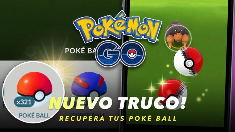 🔥 ¡Nuevo Truco! Recupera tus Poké Ball después de tocar el suelo – Pokémon GO