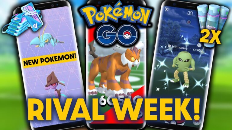 RIVAL WEEK EVENT DETAILS & TIPS in POKEMON GO | GLOBAL RAID CHALLENGE FOR 2X STARDUST!