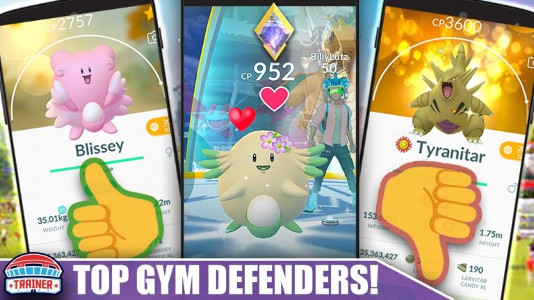 BEST GYM DEFENDERS – STACK YOUR GYMS TO LAST in 2021 – DEFENDER LIST | Pokémon GO