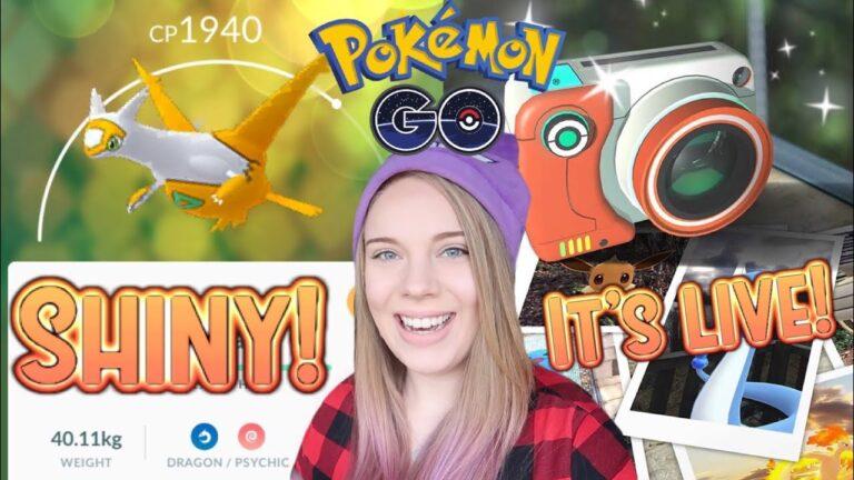 SHINY LATIAS IN POKEMON GO! + Go Snapshot Released and More Pokemon Go News!