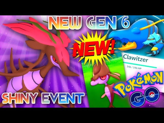 *NEW POKEMON* Dragalge & Clawitzer in Pokemon GO are they good? // Shiny Rival Event Details