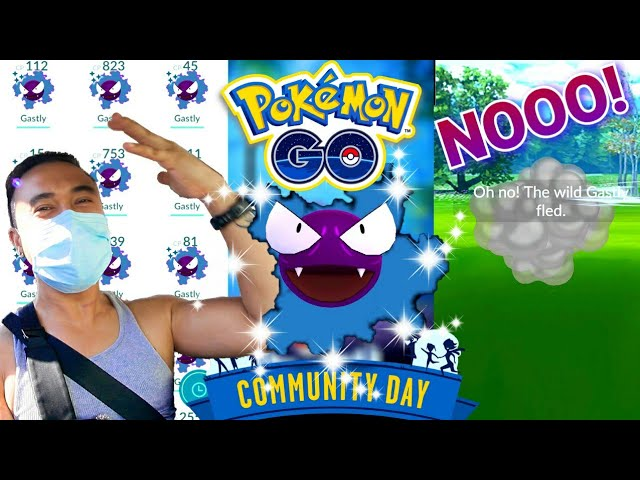I F&*KED UP! GASTLY COMMUNITY DAY POKEMON GO (2020)