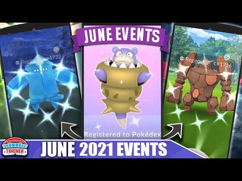 *JUNE 2021* IS INSANE! FULL MONTH BREAKDOWN – REGI TRIO & MEGA SLOWBRO & MORE! | Pokémon GO