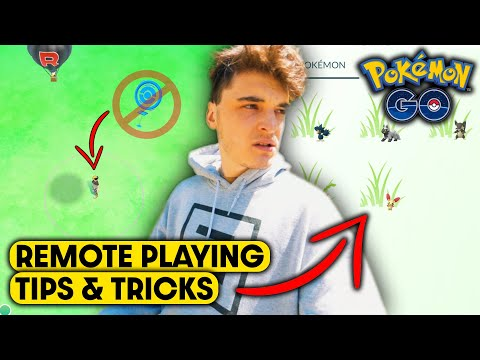 PLAYING POKEMON GO in *MIDDLE OF NOWHERE*   TIPS & TRICKS FOR REMOTE PLAYERS