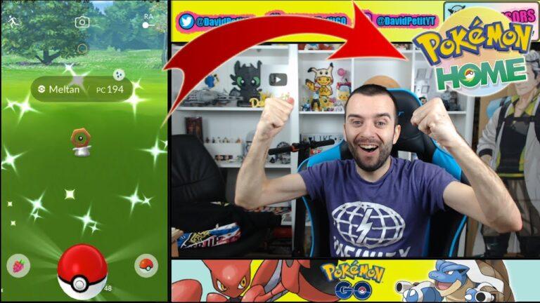 CONSIGO MELTAN SHINY Y SU CAJA GRATIS (SIN NINTENDO) CON POKÉMON HOME! [Pokémon GO-davidpetit]