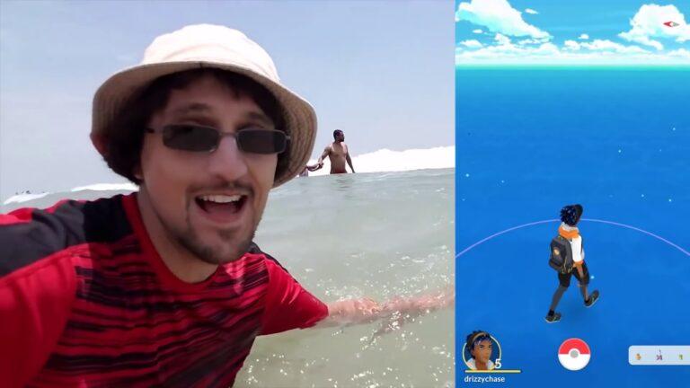SHARK DRONE! Spicy Joke vs  Joke  Myrtle Beach POKEMON GO Vlog