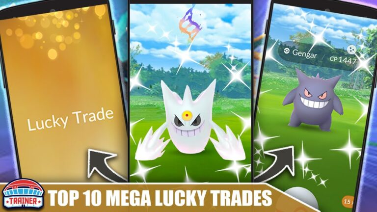 TOP 10 POKÉMON to LUCKY TRADE for FUTURE MEGA EVOLUTIONS! STRONGEST & IMPACTFUL | Pokémon GO
